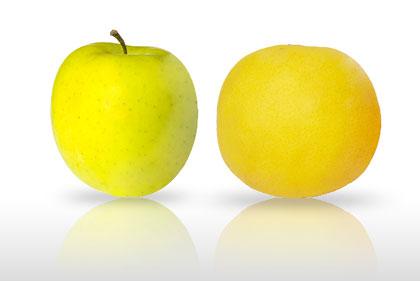 Mela e Pompelmo ricchi di Pectina, la fibra che elimina il colesterolo