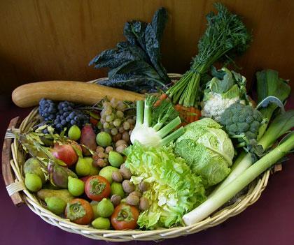 Frutta e verdura di stagione, i prodotti di Ottobre