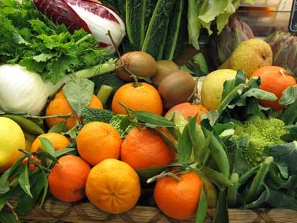 Frutta e verdura di stagione: i prodotti di febbraio