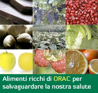 Alimenti ricchi di ORAC per salvaguardare la nostra salute