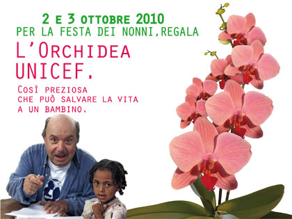 Orchidea UNICEF 2010