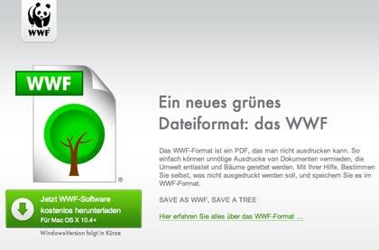 """""""Save as .wwf"""", ma serve davvero un nuovo formato per non stampare e salvare gli alberi?"""