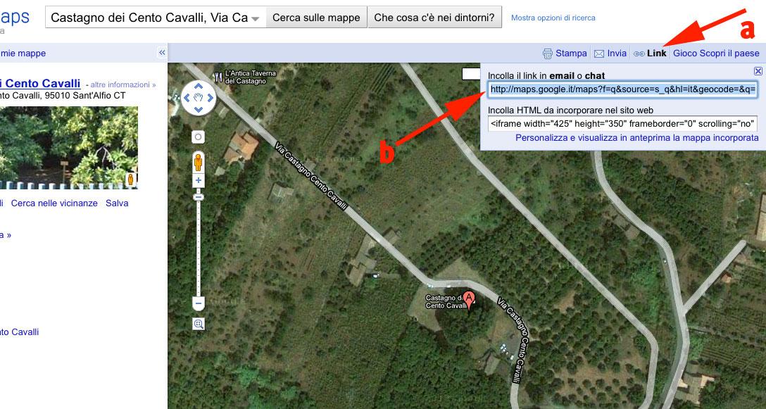 Albero su Google Maps
