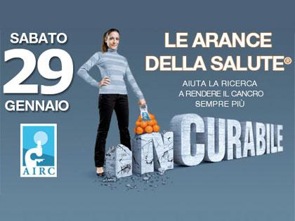 """""""Le arance della salute"""" 2011, torna l'appuntamento con l'Airc"""