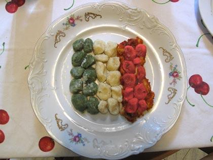 gnocchi patriottici