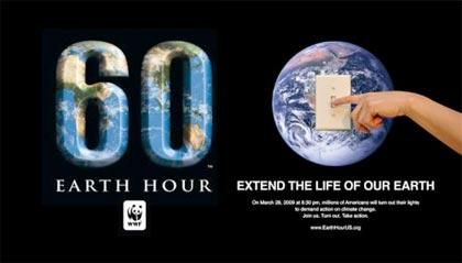 L'Ora della Terra 2011, facciamo in modo che non rimanga solo un gesto simbolico