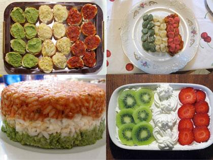ricette tricolore